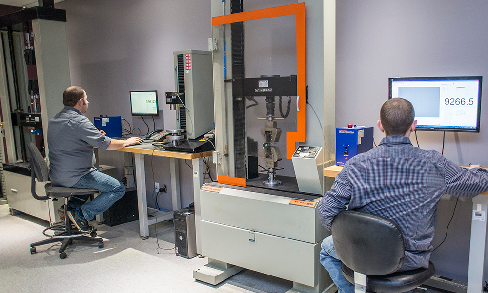 Physical Mechanical Polymer Testing Lab